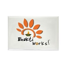 Bhakti Works! Rectangle Magnet