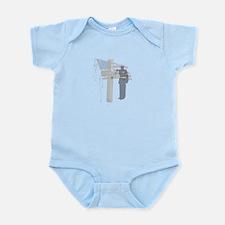 Memorial Day Salute Infant Bodysuit