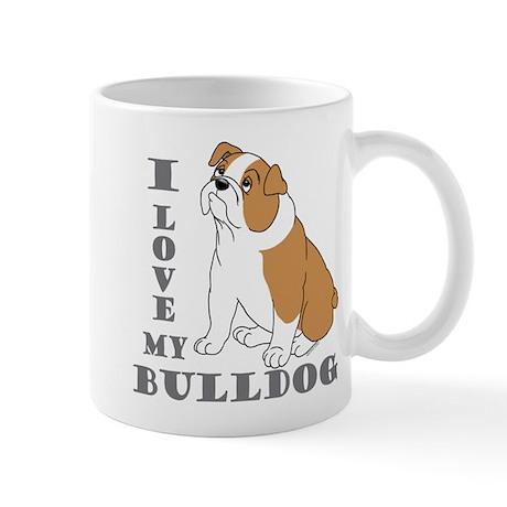 Bulldog, Eng. (Brn&wht) Mug