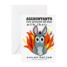 Accountants Greeting Card