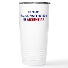 U.S. Constitution Missing? Travel Mug