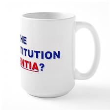 U.S. Constitution Missing? Mug