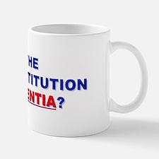 U.S. Constitution Missing? Drink Mug