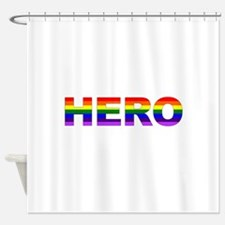 Hero pride Shower Curtain