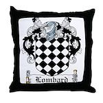 Lombard Coat of Arms Throw Pillow