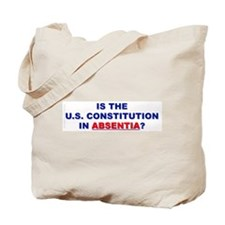 U.S. Constitution Missing? Tote Bag