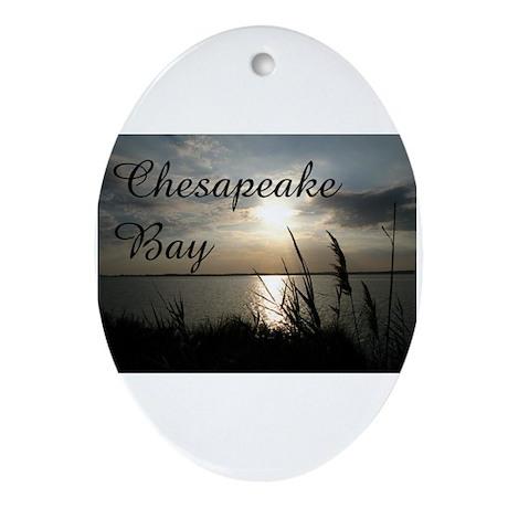 CHESAPEAKE BAY Oval Ornament