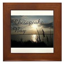 CHESAPEAKE BAY Framed Tile