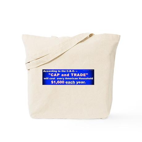 1600 Cap and Trade Tote Bag