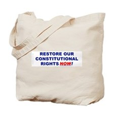 Restore our Constitution Tote Bag