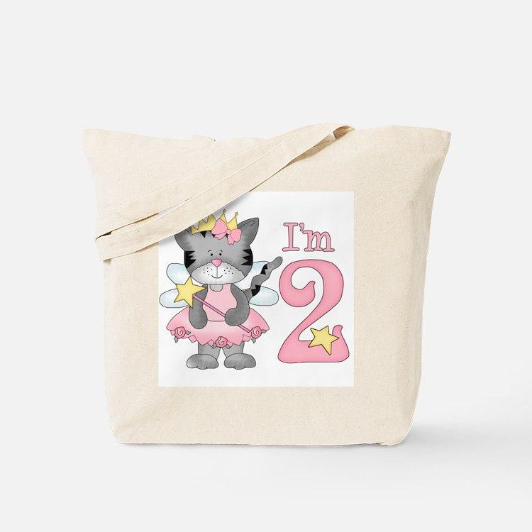 Kitty Princess 2nd Birthday Tote Bag
