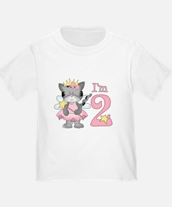 Kitty Princess 2nd Birthday T