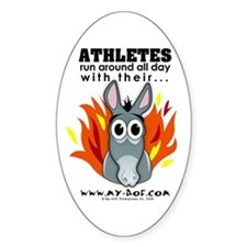 Athletes Oval Decal