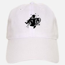 Cyclist Crash Baseball Baseball Cap