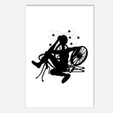 Cyclist Crash Postcards (Package of 8)