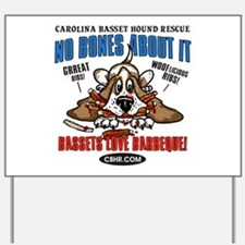 Bassett hounds Yard Sign