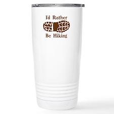 Rather Be Hiking Travel Coffee Mug