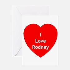 SGA Love Rodney Greeting Card