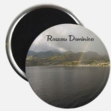 Rainbow over Dominica Magnet