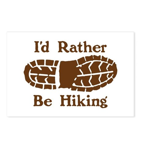 Rather Be Hiking Postcards (Package of 8)