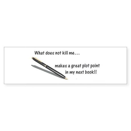 Writer's Life Bumper Sticker