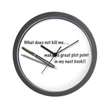 Writer's Life Wall Clock