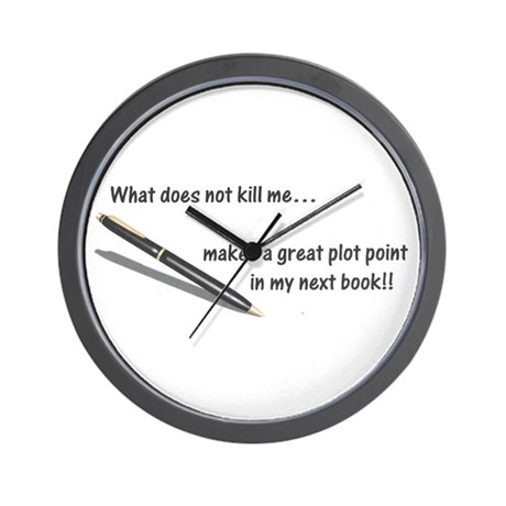 Writer's Life Wall Clock