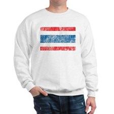 Vintage Thailand Flag Sweatshirt