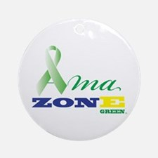 Ornament (Round) Ama Zone Green