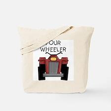Four Wheeler Tote Bag