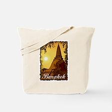 Vintage Bangkok Tote Bag