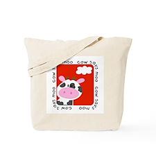 Cow Says Moo Tote Bag