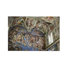 Sistine Chapel Rectangle Magnet