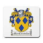 MacCostello Coat of Arms Mousepad