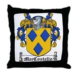 MacCostello Coat of Arms Throw Pillow