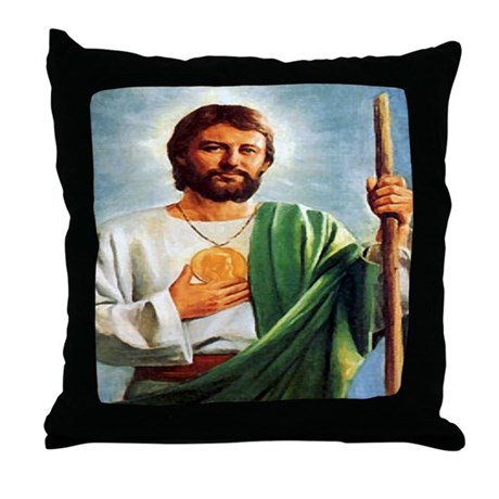 St. Jude Throw Pillow