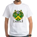 MacCurdy Coat of Arms White T-Shirt