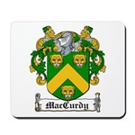 MacCurdy Coat of Arms Mousepad