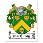 MacCurdy Coat of Arms Small Poster