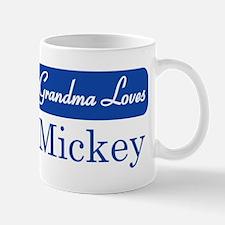 Grandma Loves Mickey Mug