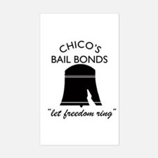 CHICO'S BAIL BONDS Rectangle Decal