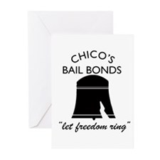 CHICO'S BAIL BONDS Greeting Cards (Pk of 20)