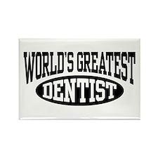 World's Greatest Dentist Rectangle Magnet