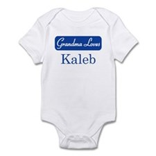 Grandma Loves Kaleb Infant Bodysuit