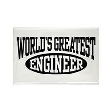 World's Greatest Engineer Rectangle Magnet