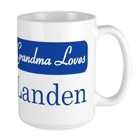 Grandma Loves Landen Large Mug