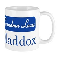 Grandma Loves Maddox Mug