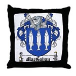 MacGahan Coat of Arms Throw Pillow
