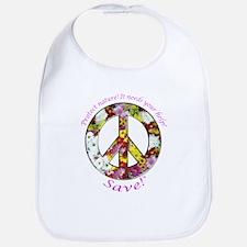 Bib Peace Flowers