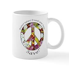 Mug Peace Flowers